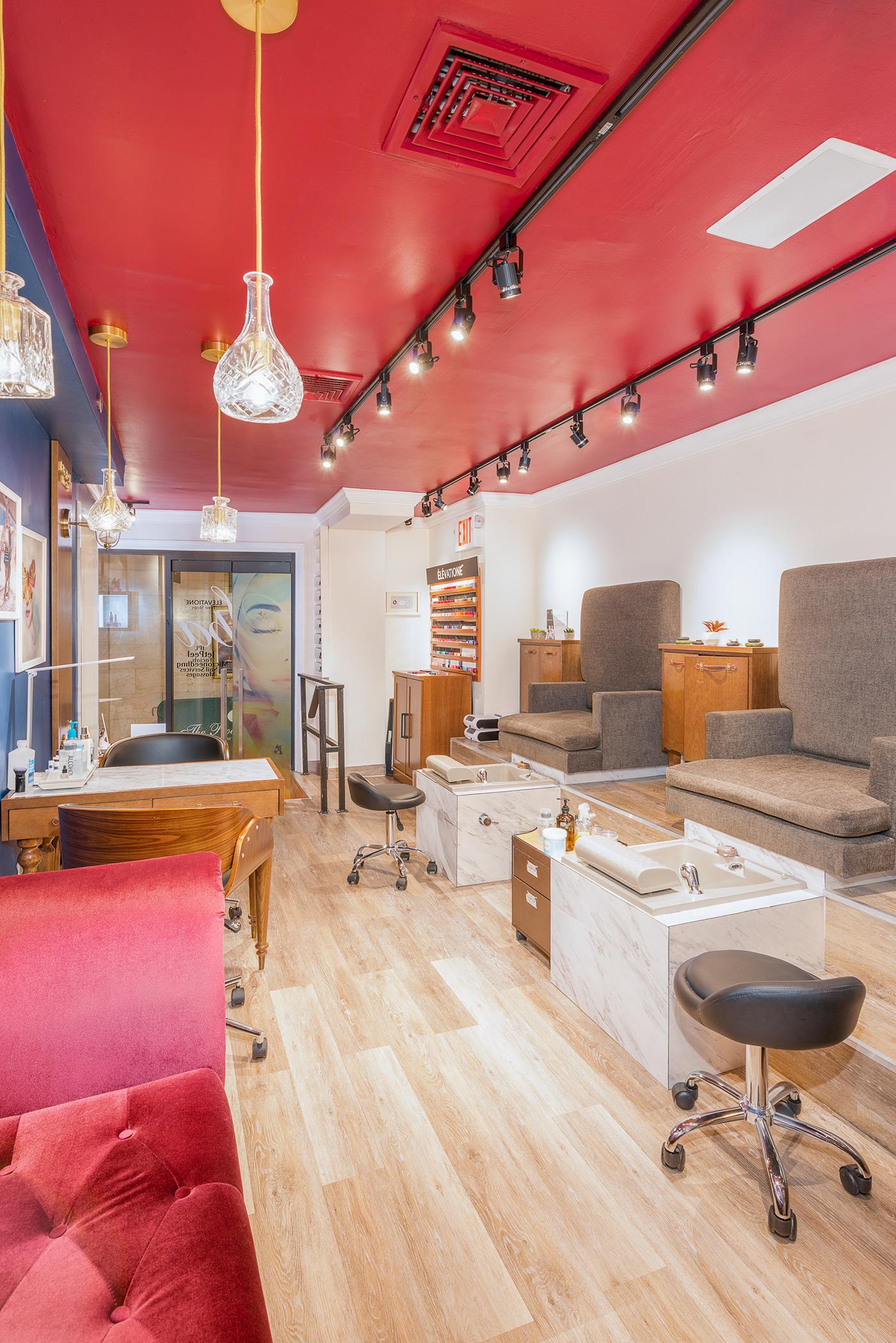 real estate New York architecture Interior design Spa elevatione