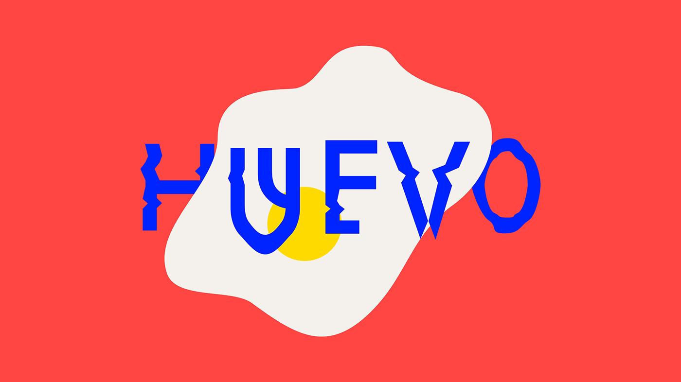 Typeface buenos aires Futura font free los caballos  argentina city maradona fried egg