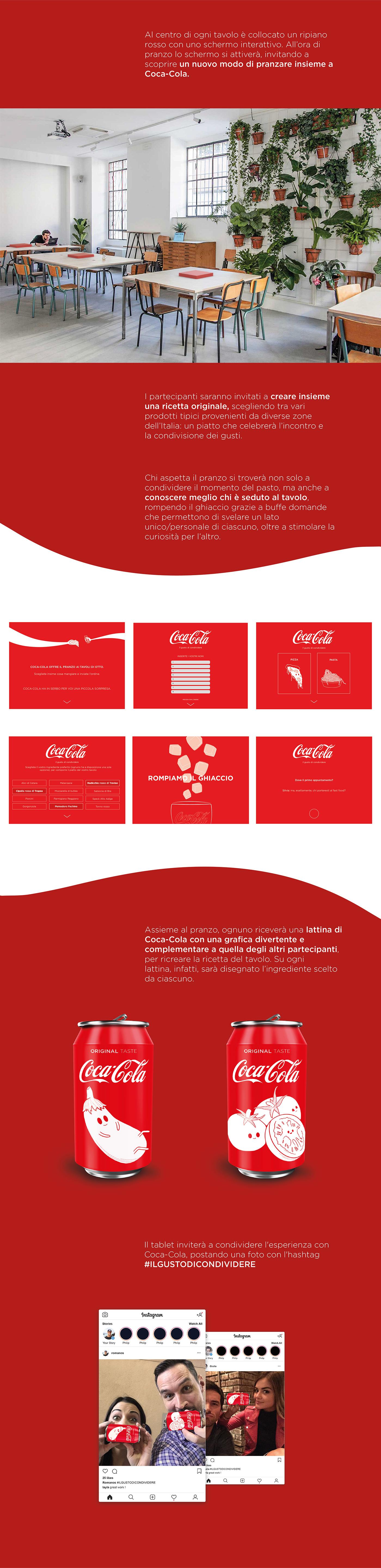 activation advertisement ArtDirection Coca Cola