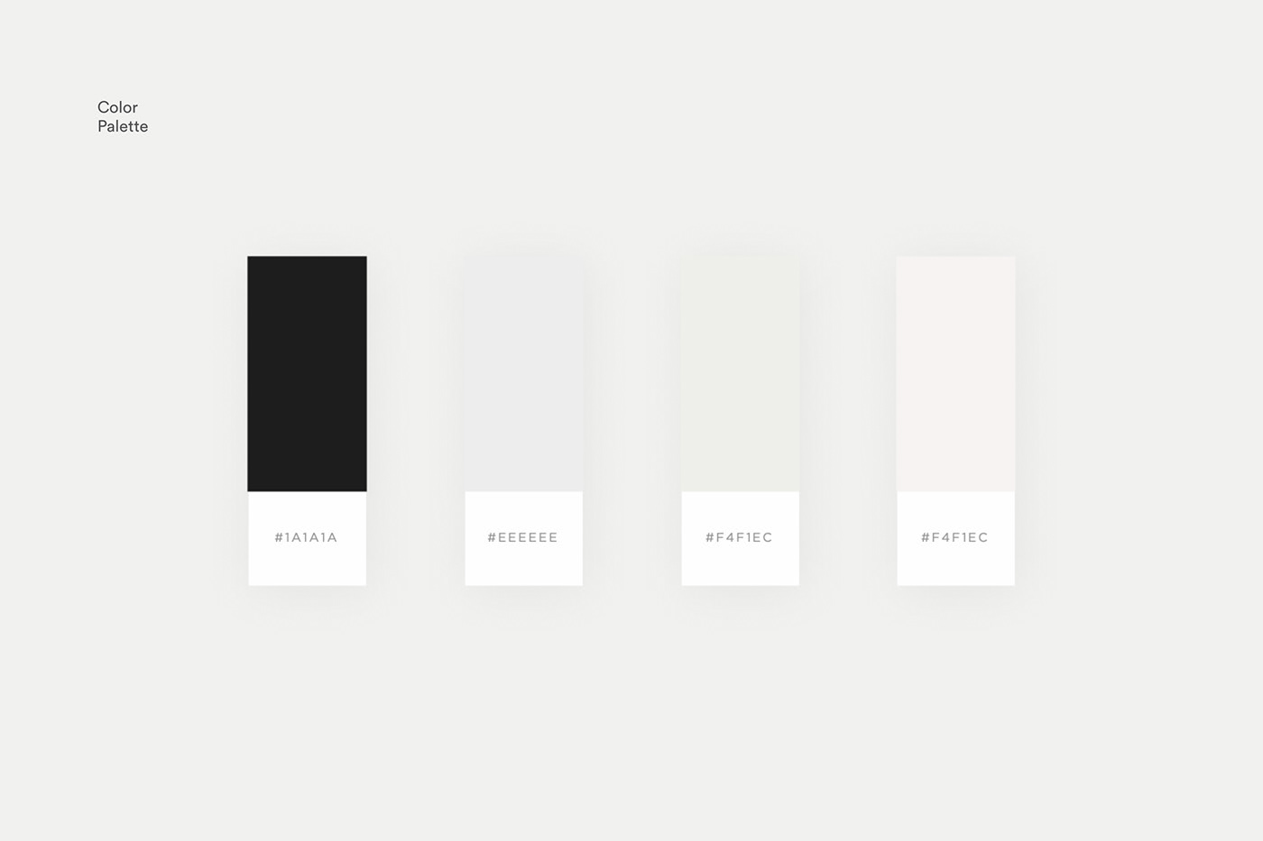 Paleta de colores para temporada 2018, lanzamiento de marca.