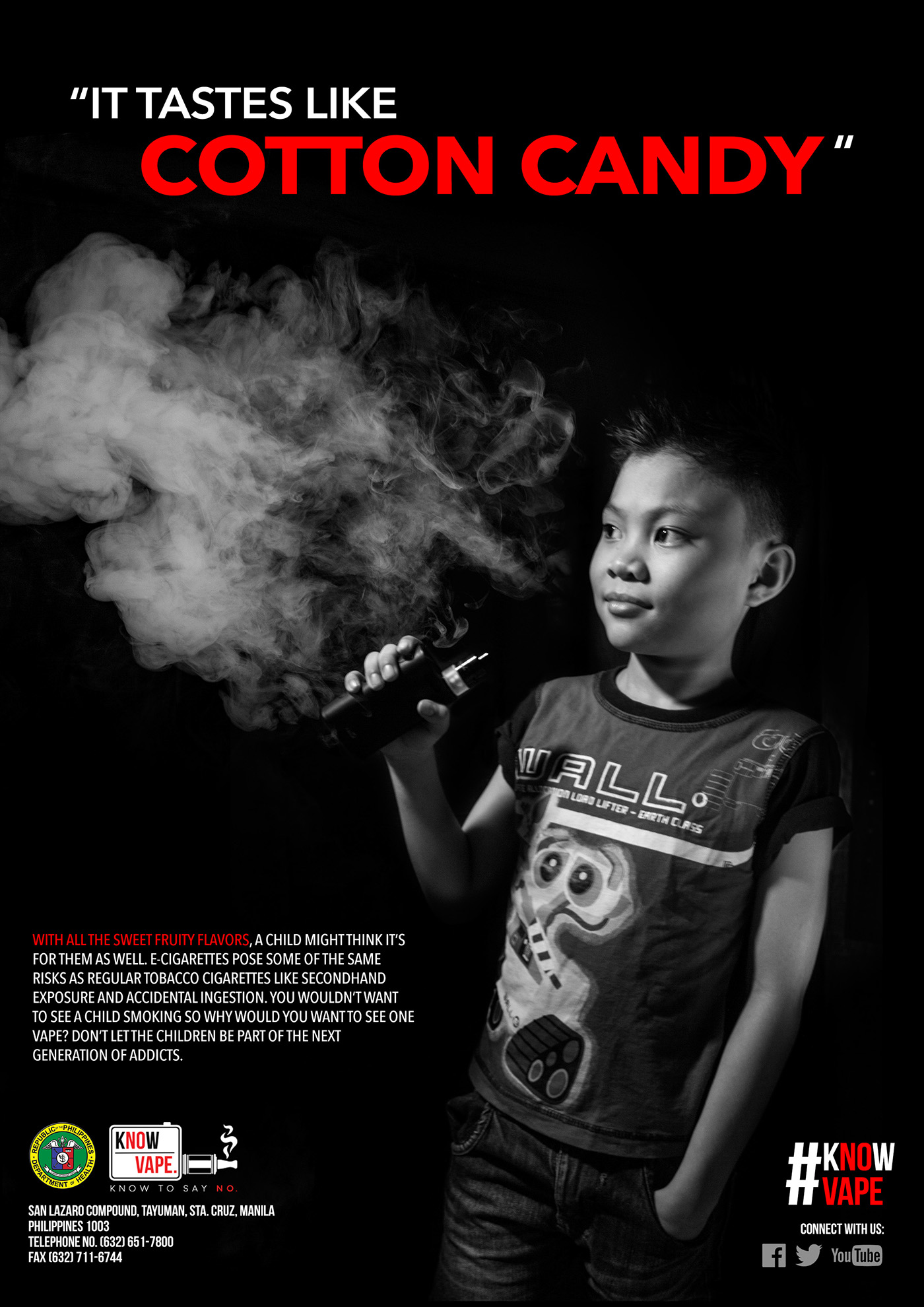 Anti-Vape Advocacy Campaign Proposal on Behance