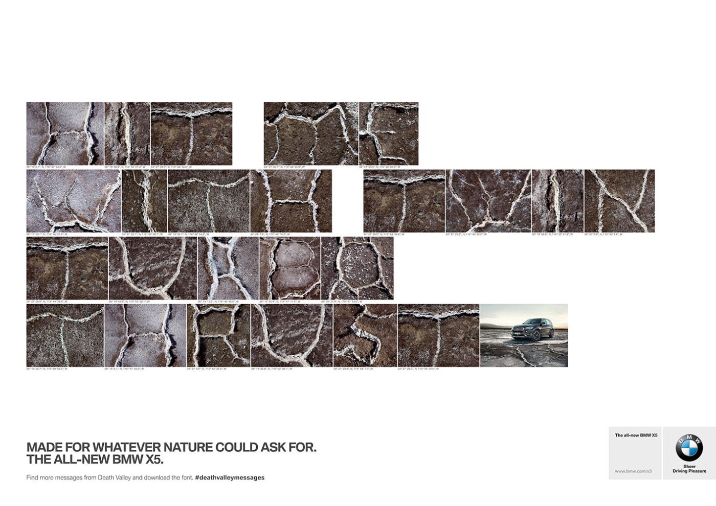 alphabet art BMW deathvalley Photography