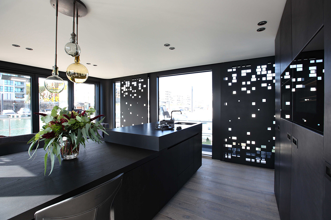 Küchendesign Hausboot Onyx Cruising Home Projekt Nobla Raumgestaltung
