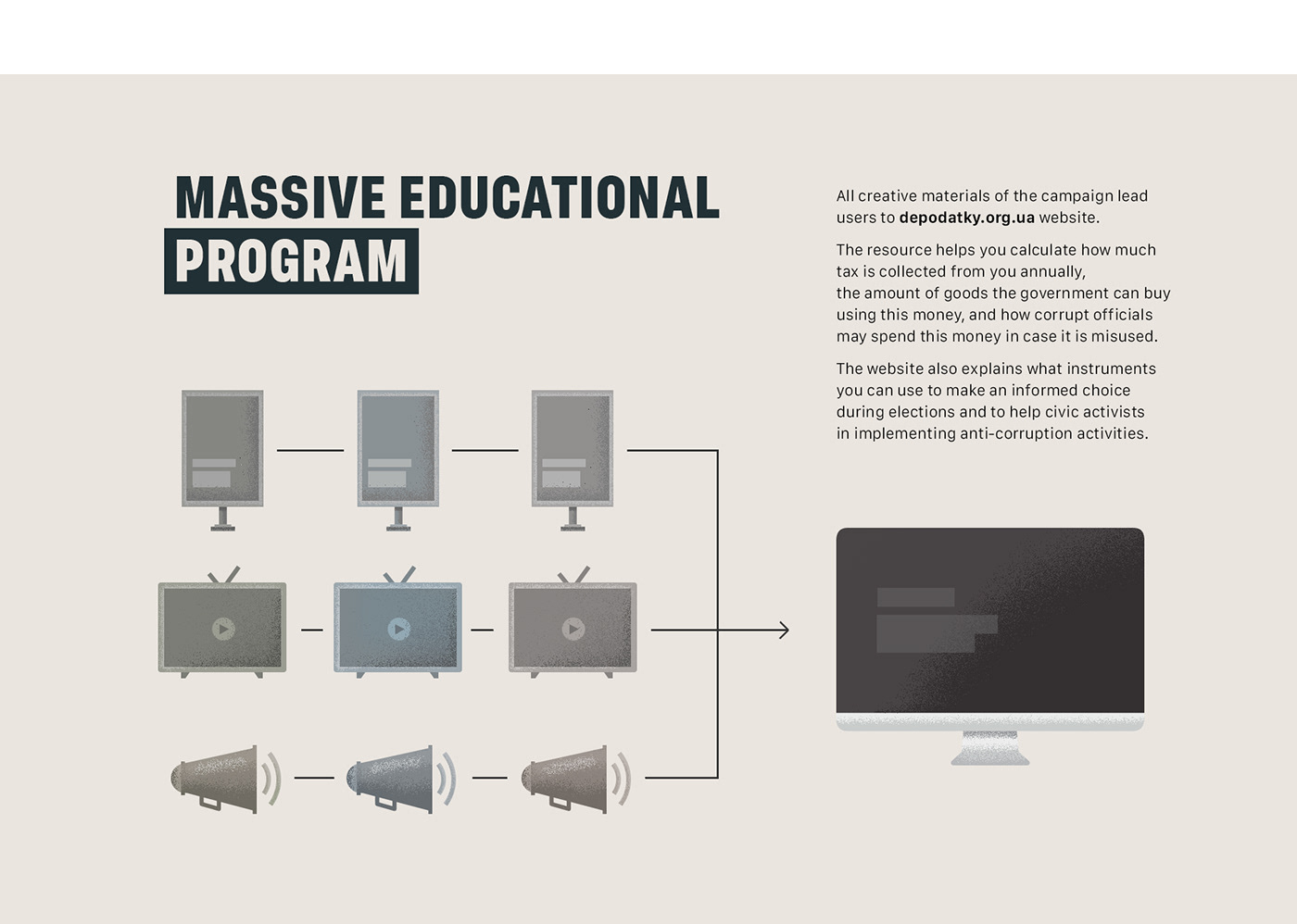 anti-corruption corruption Website communication Webdesign key-vizual Advertising  Radio socia ad video