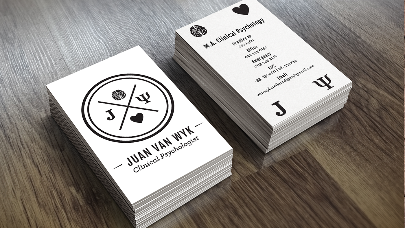 Brand identity clinical psychologist on behance the alternative business card design the entire design is revised according to the clients chosen printing budget magicingreecefo Choice Image