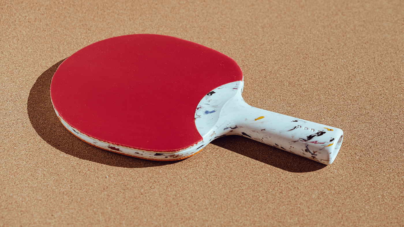 recycled ping pong paddle