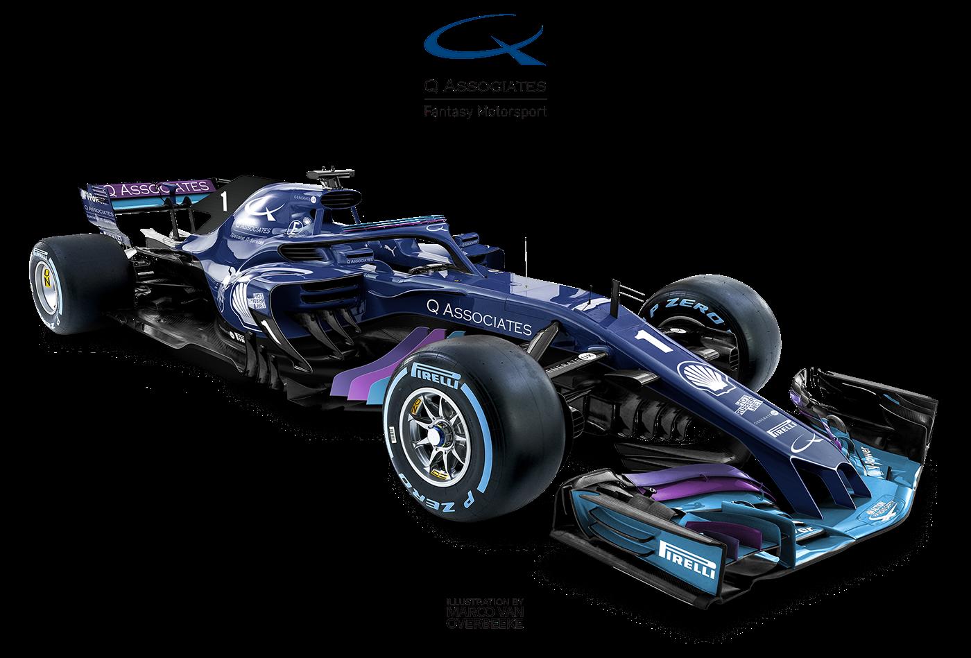 2018 Formula 1 fantasy concept   Q Associates UK on Behance