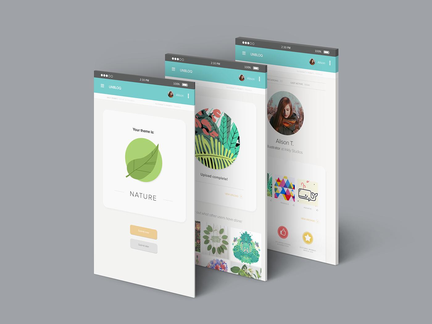 ui design UX design app branding  logo