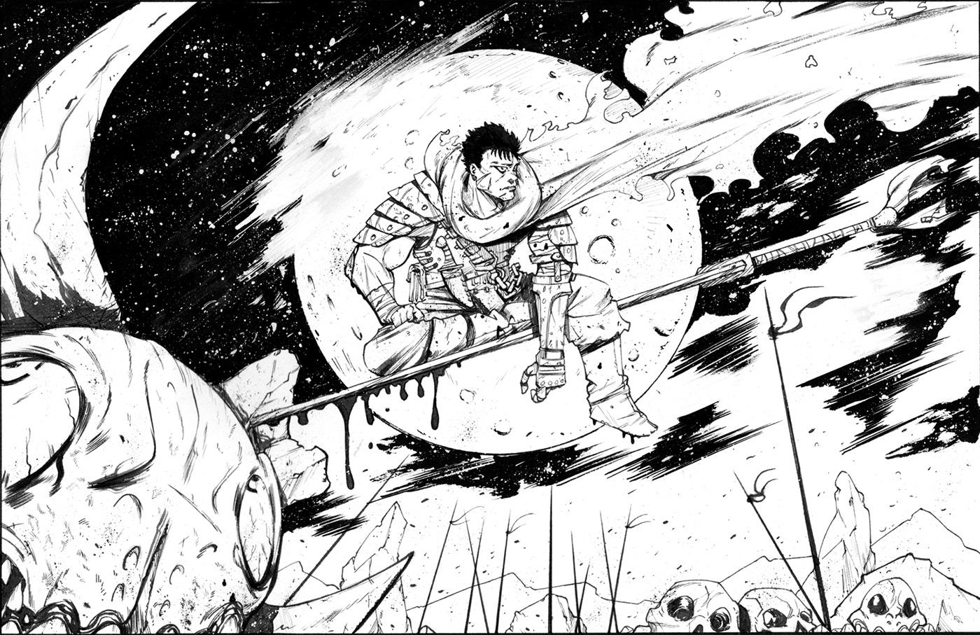 anime comics Dragonball Drawing  godzilla ink manga marvel comics star  wars Xmen