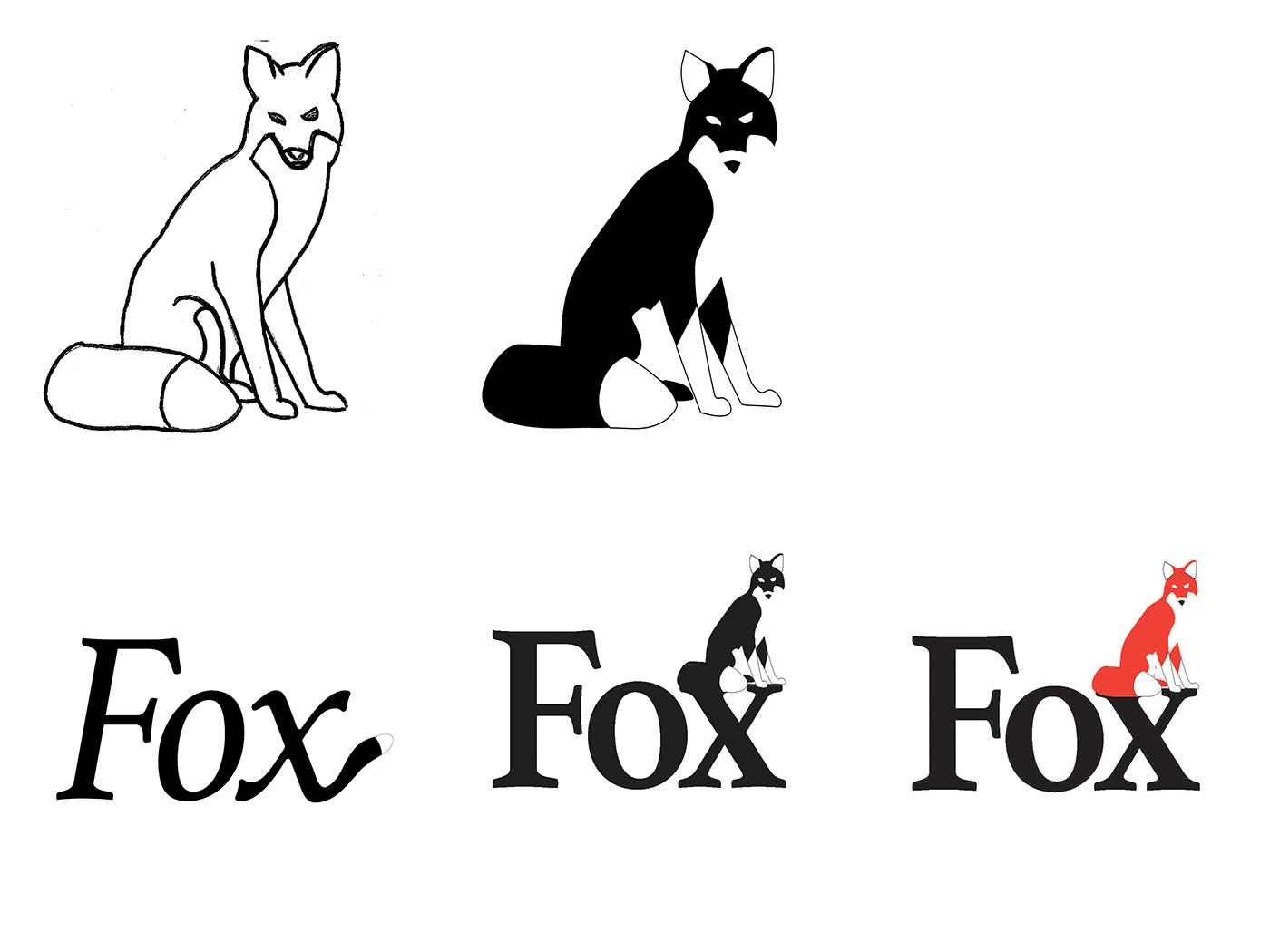Fox Symbol And Logotype On Behance