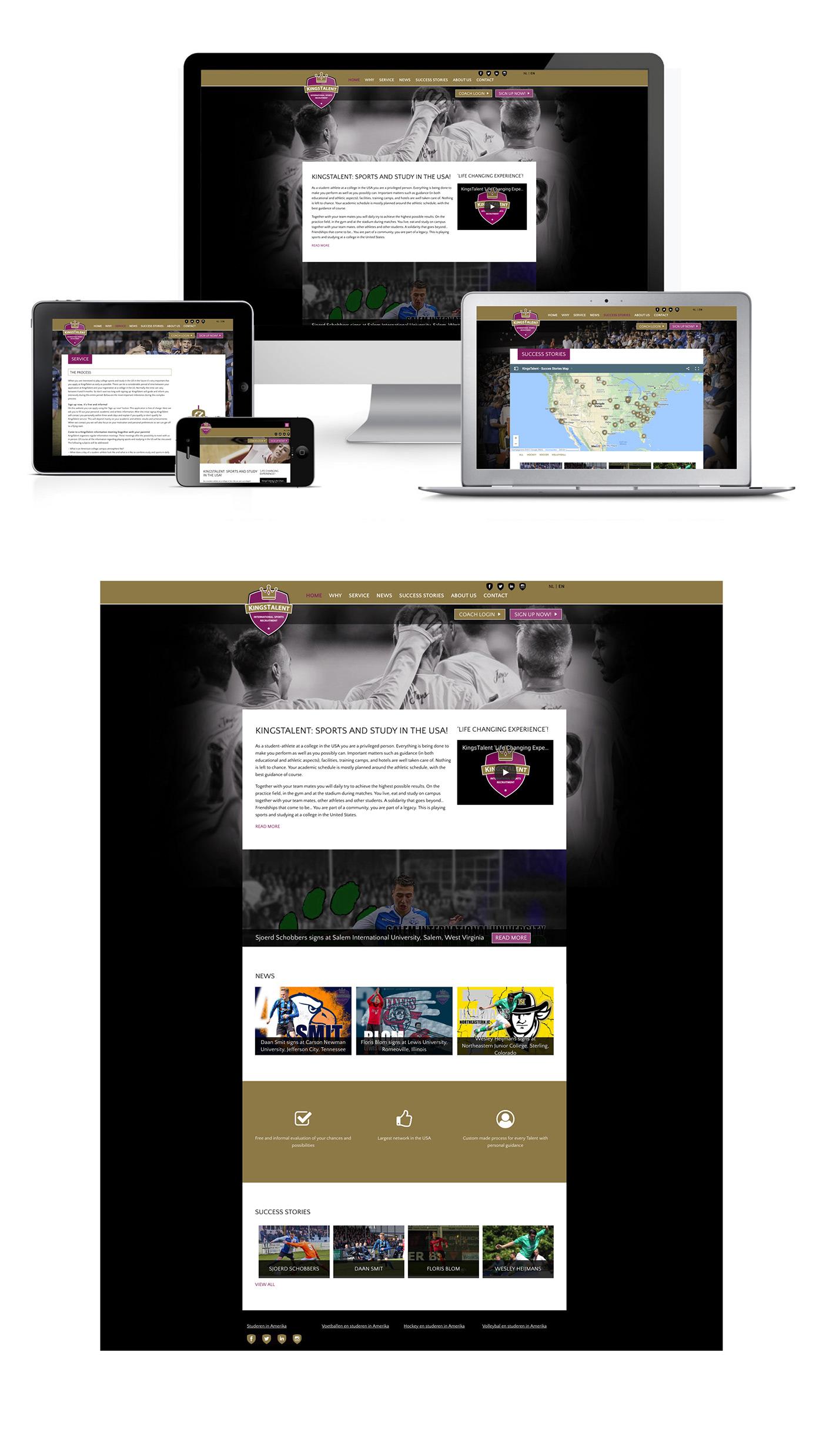 Adobe Portfolio logo huisstijl Website flyers spandoeken posters folder facebook social media Webdesign