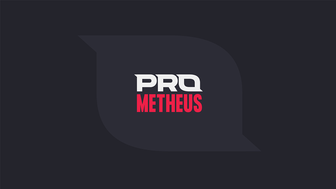 brand identity branding  E-Sports Gaming graphic logo pro Prometheus team visual