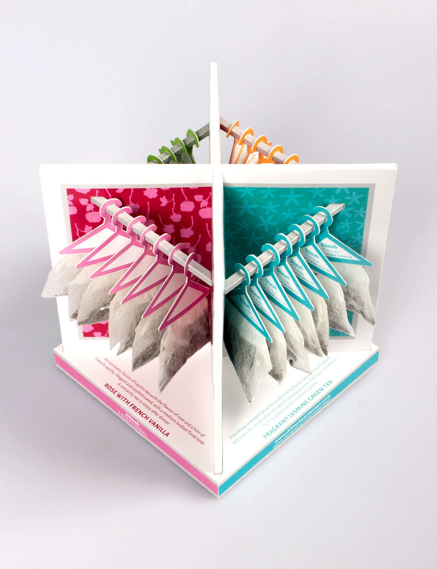 Dilmah Exceptional Tea Packaging On Behance Rose With French Vanilla