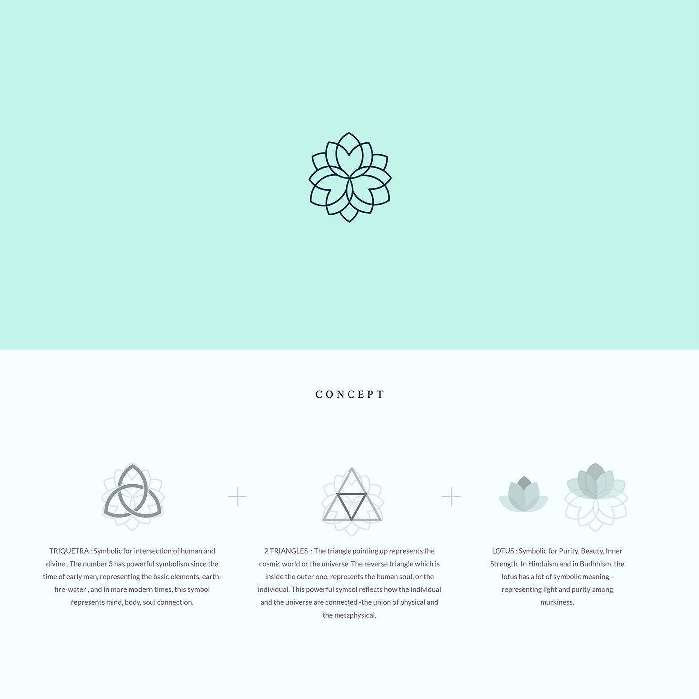 Azure brand identity wellness spa yoga studio on behance thanks a lot for the appreciation biocorpaavc Gallery