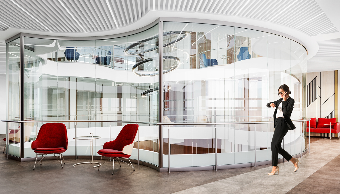 OFFICE DESIGN OFFICE INTERIOR OFFICE OFFICE SPACE LOFT MEETING room Office офис