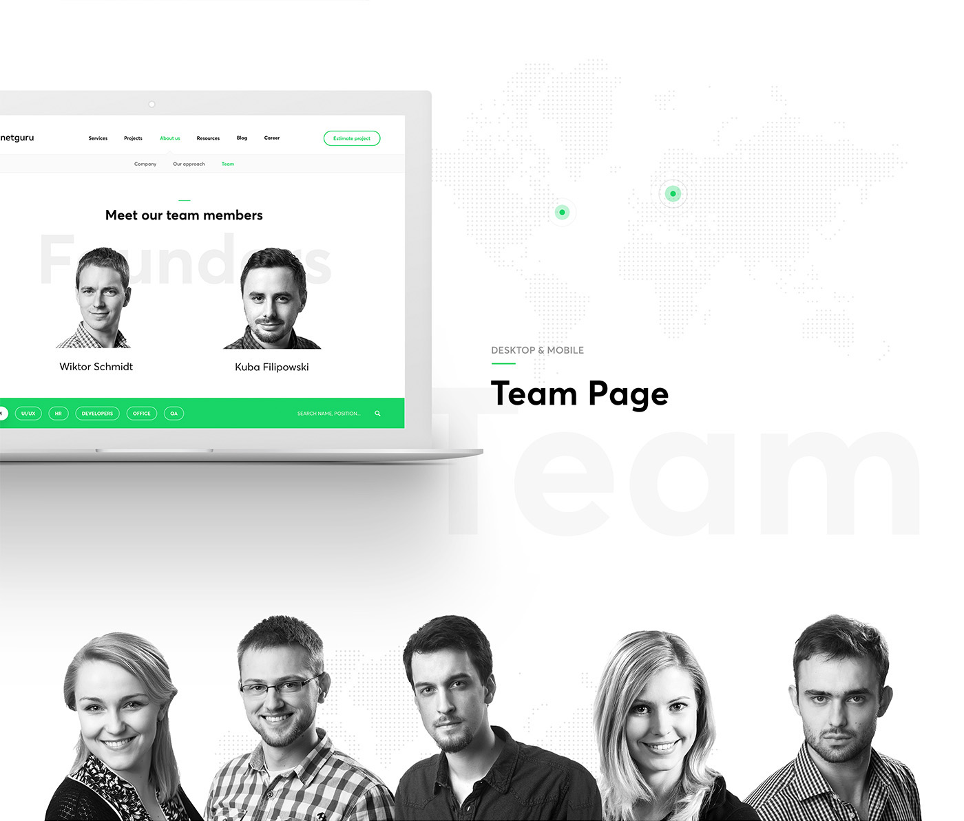 landing page agency design about us app home contact Testimonials services mobile