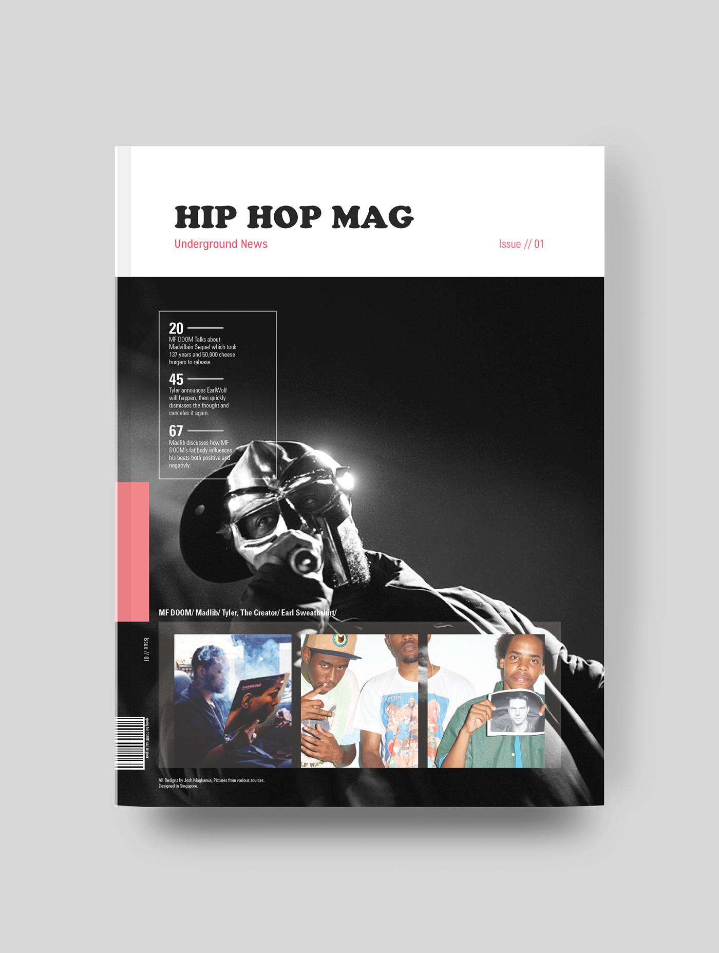 Hip Hop Magazine on Behance