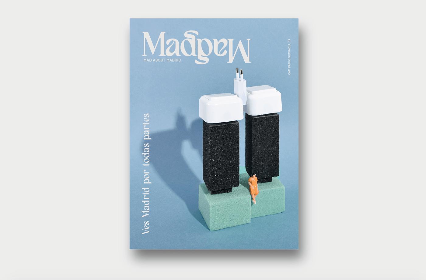art direction  branding  dirección artística dirección de arte diseño gráfico graphic desing madrid magazine poster set desing