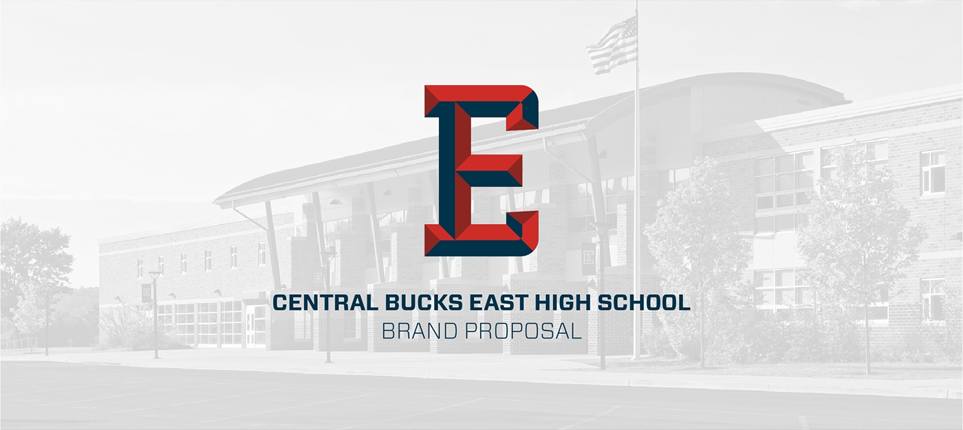 Central Bucks East HS Branding Proposal on Behance