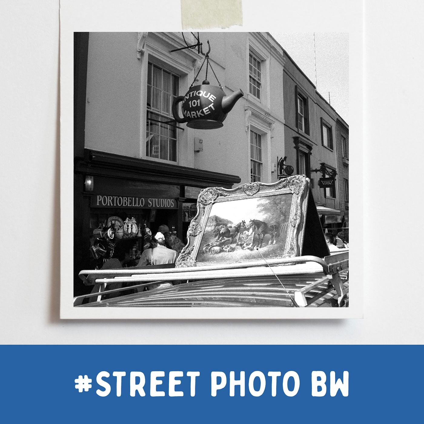Portobello Market, London 1996