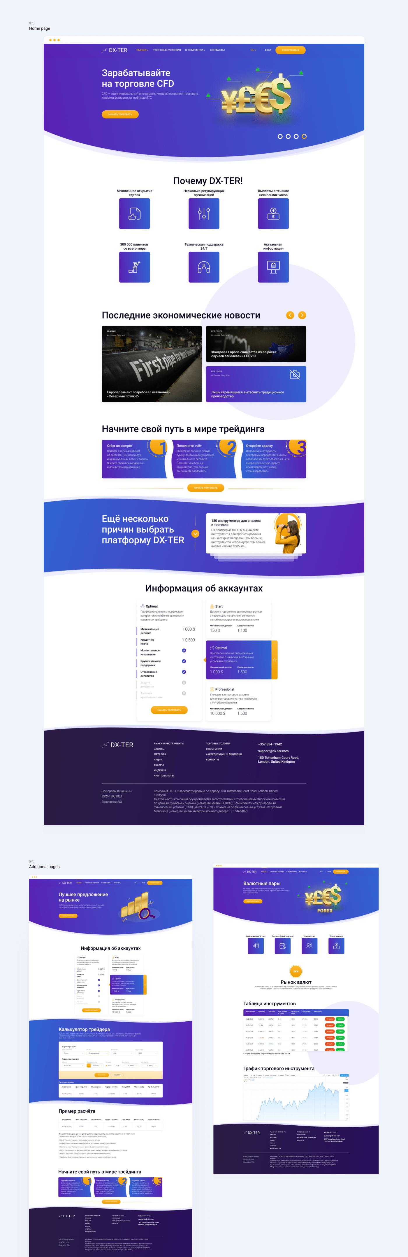broker crypto design finance money trading UI UI/UX ux Website
