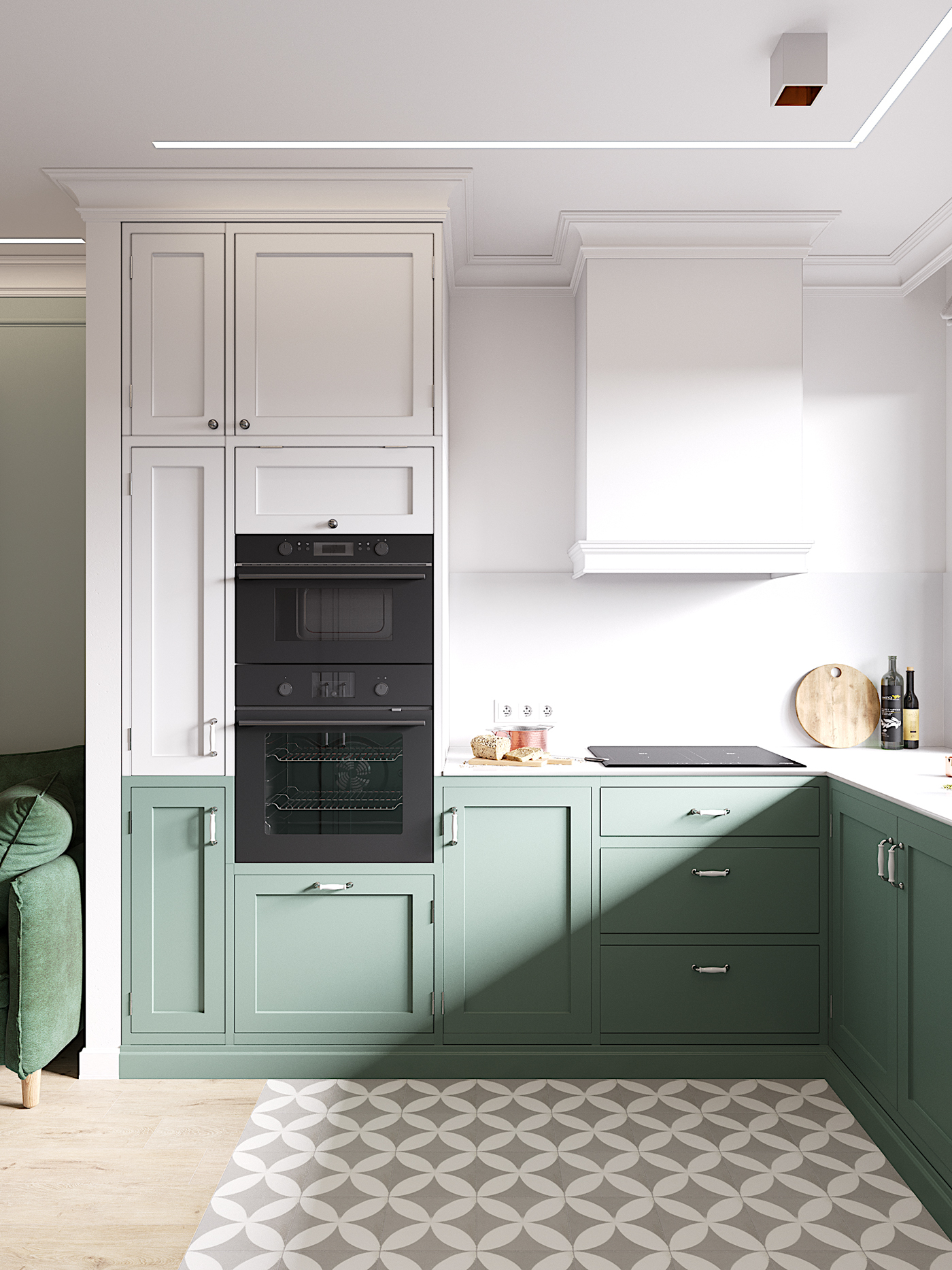 cartelledesign,Interior,design,pink,green,LOFT,Scandinavian,modern