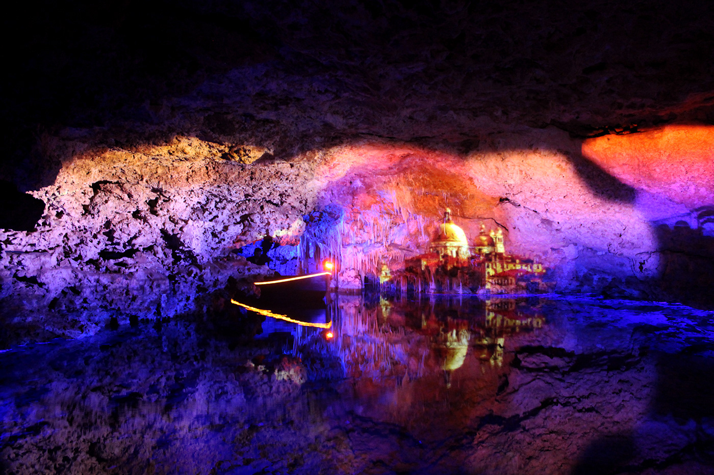 spain palmademallorca cuevas Caves colors photo Nature
