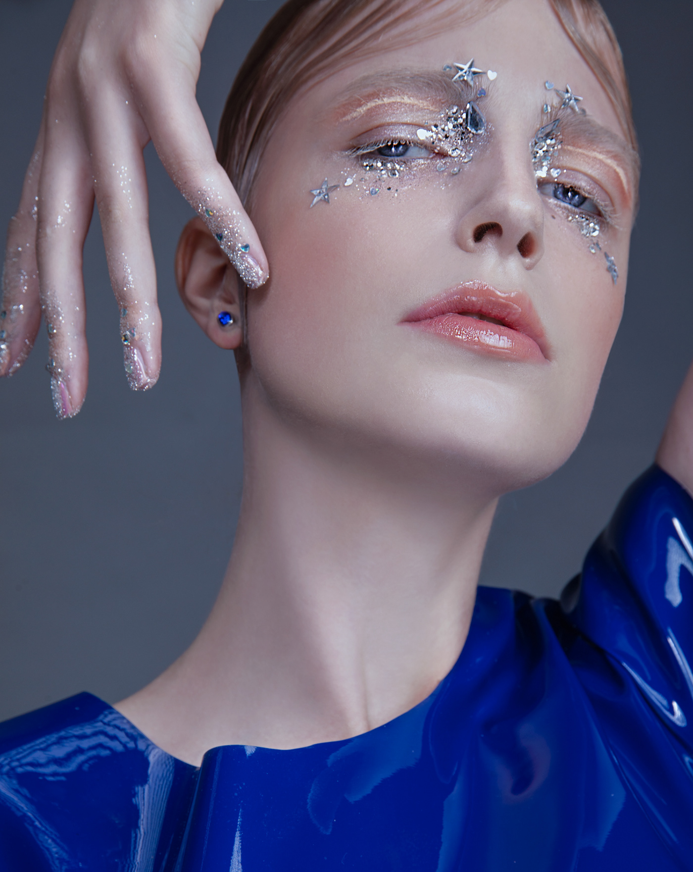 Image may contain: person, fashion accessory and lipstick