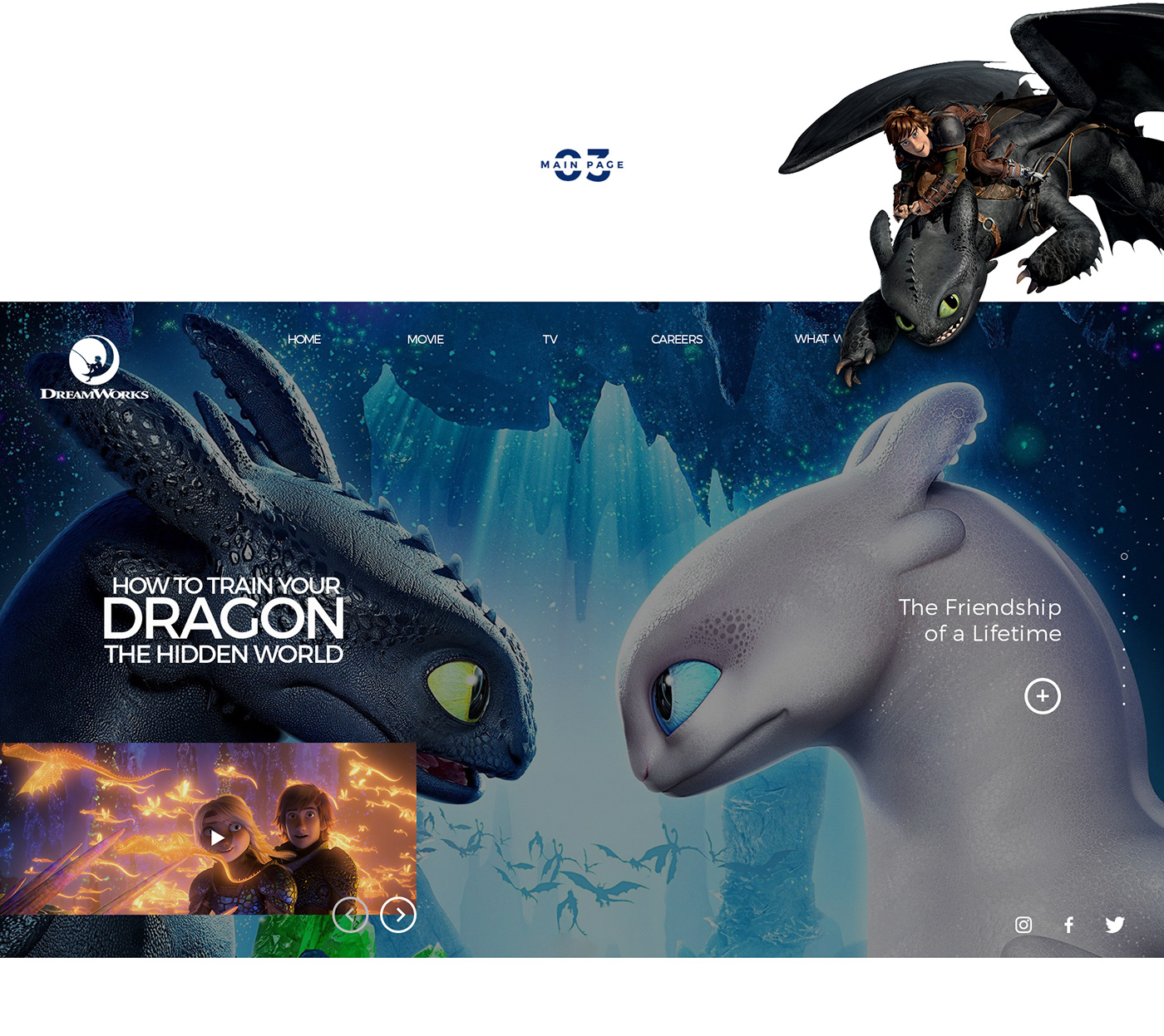Openhouse Design: Dreamworks Animation Studios Interaction Design On Behance