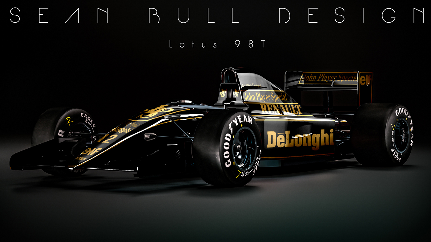 Renault F1 Jobs >> Reverse Retro F1 Liveries on Behance