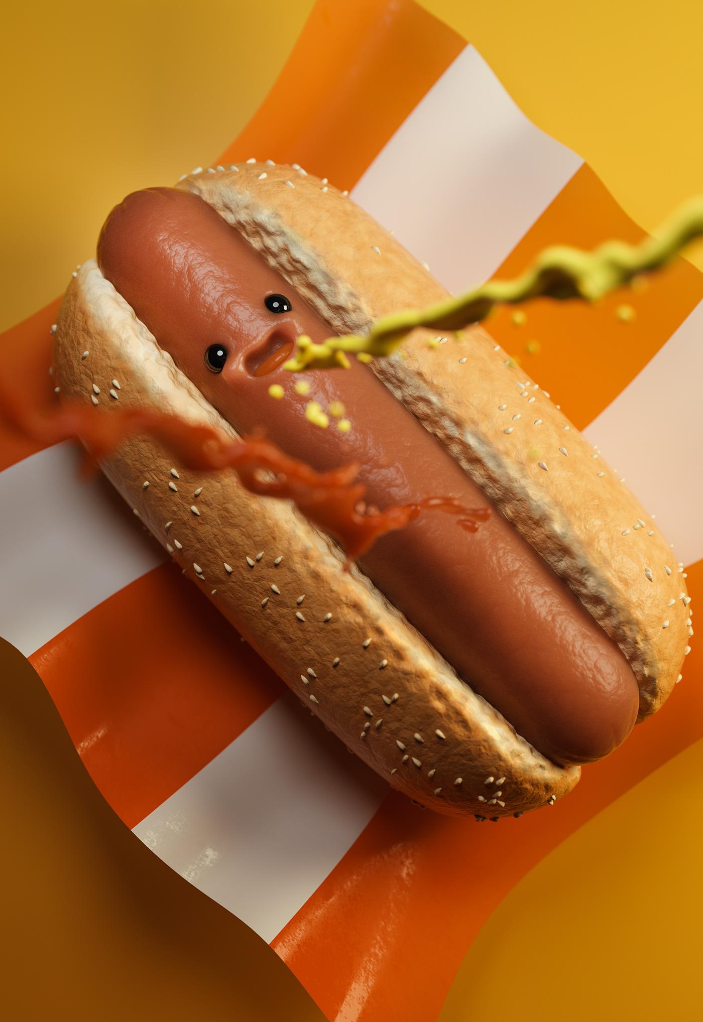 Image may contain: hot and dog