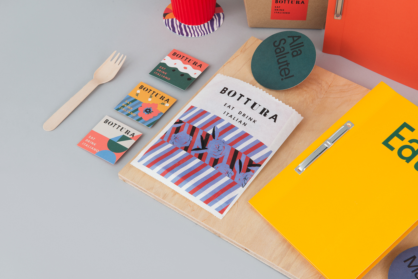 restaurant Hospitality menu design packaging design watercolors singapore foreign policy design