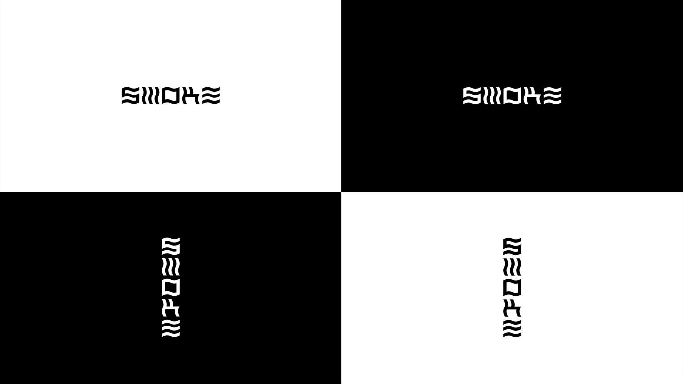 brand logo Logotype restaurant Food  drink menu grid design pattern