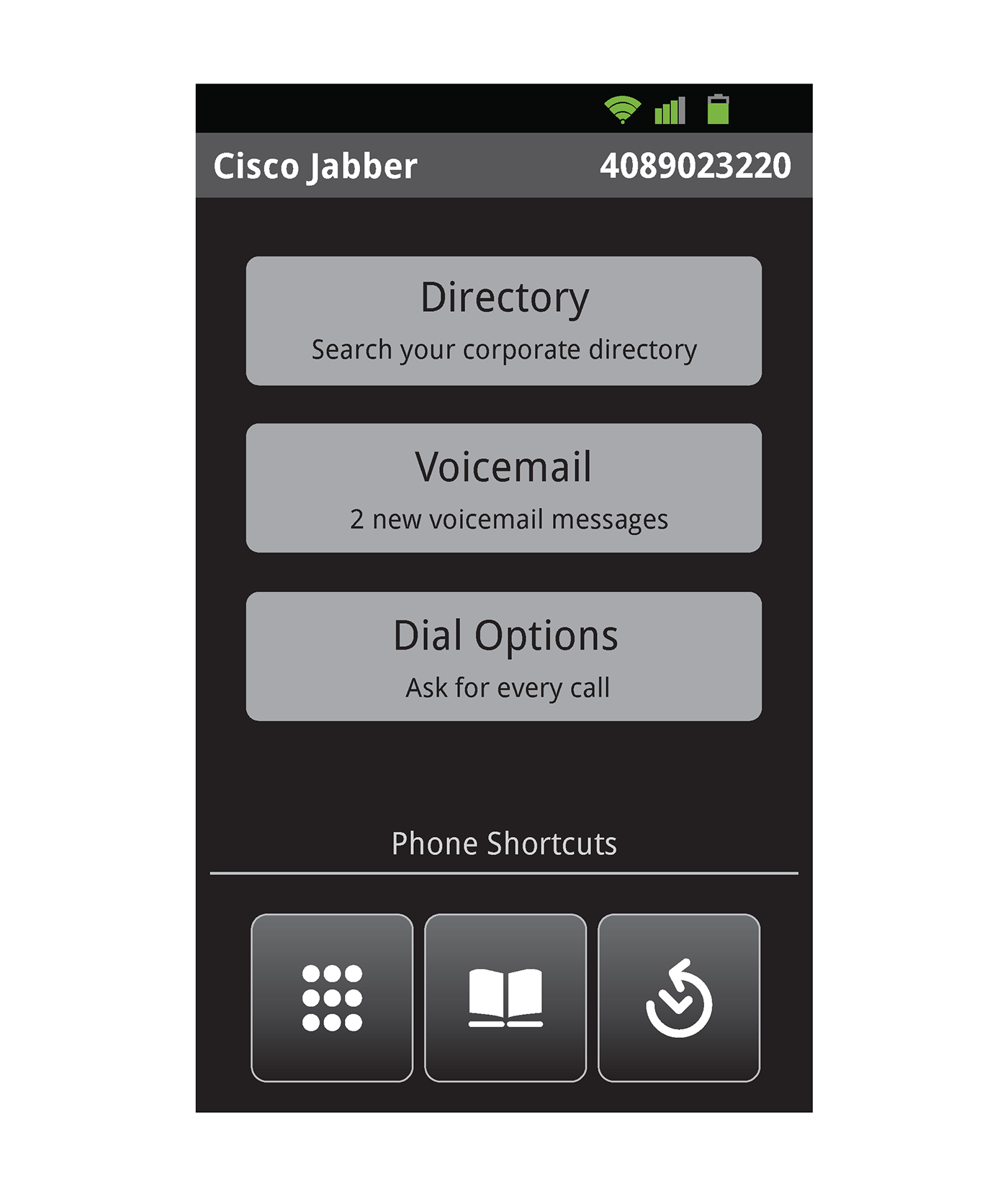 Voicemail Ux For Cisco Jabber For Android On Behance
