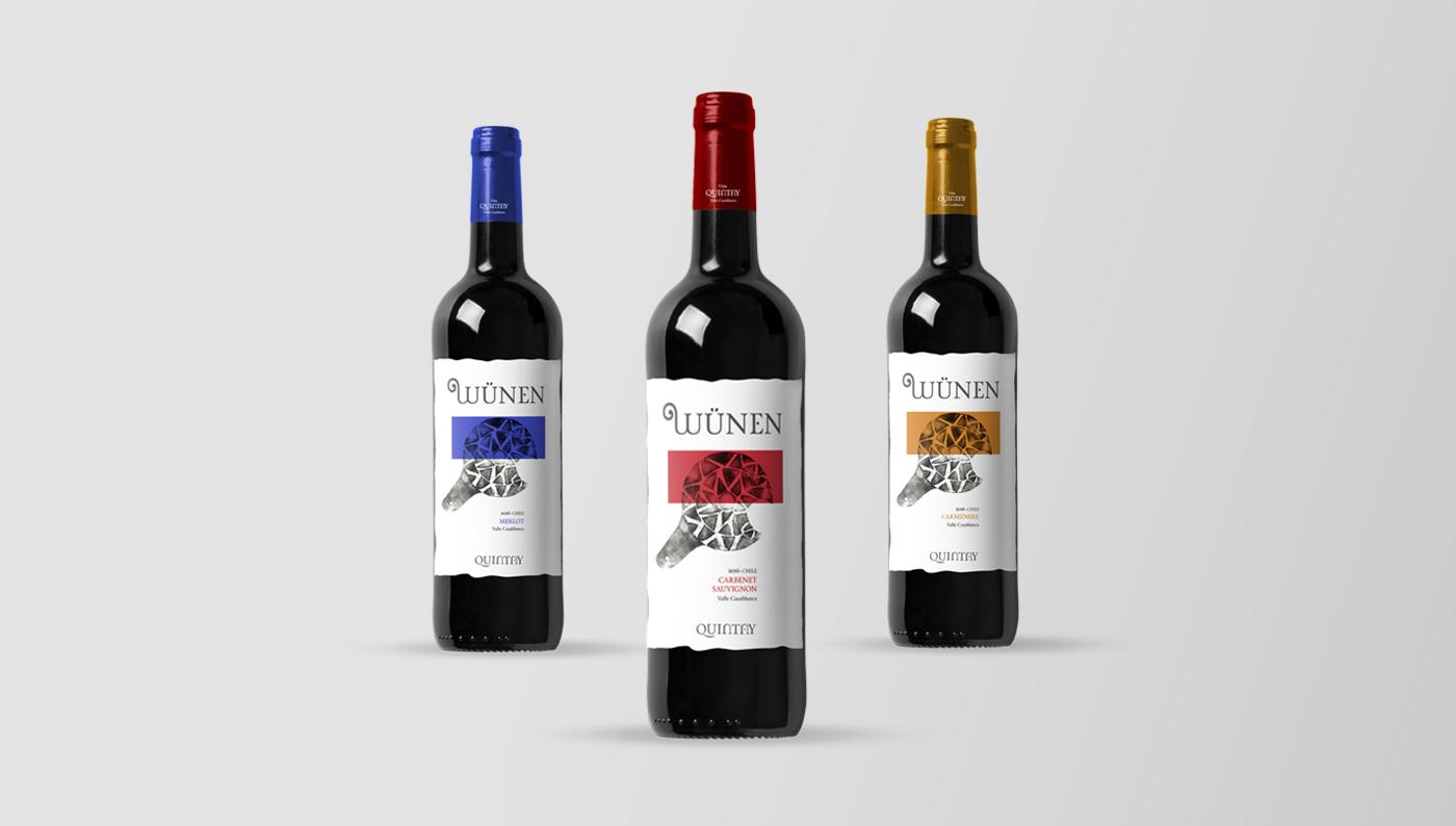 vino wine Packaging diseño desing producto Wine Bottle etiqueta Label wine label