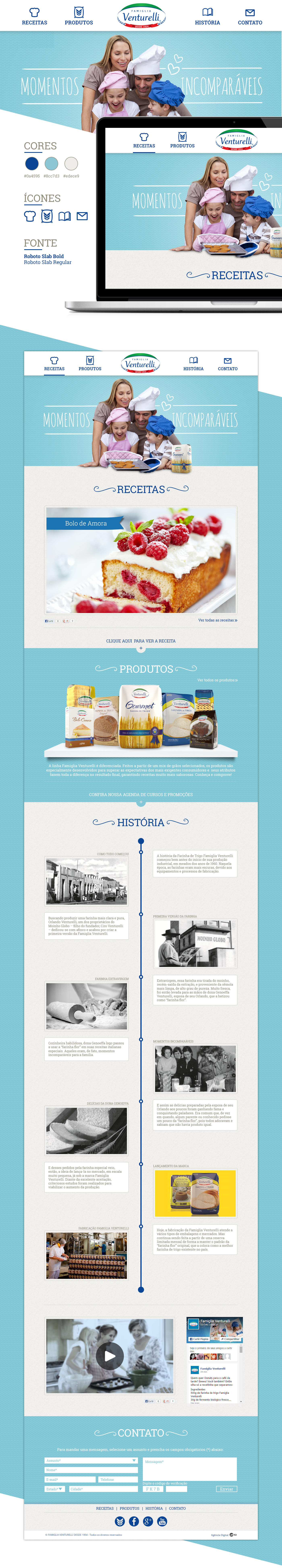 template Website flour wheat site Webdesign design Interface HotSite MarketingDigital
