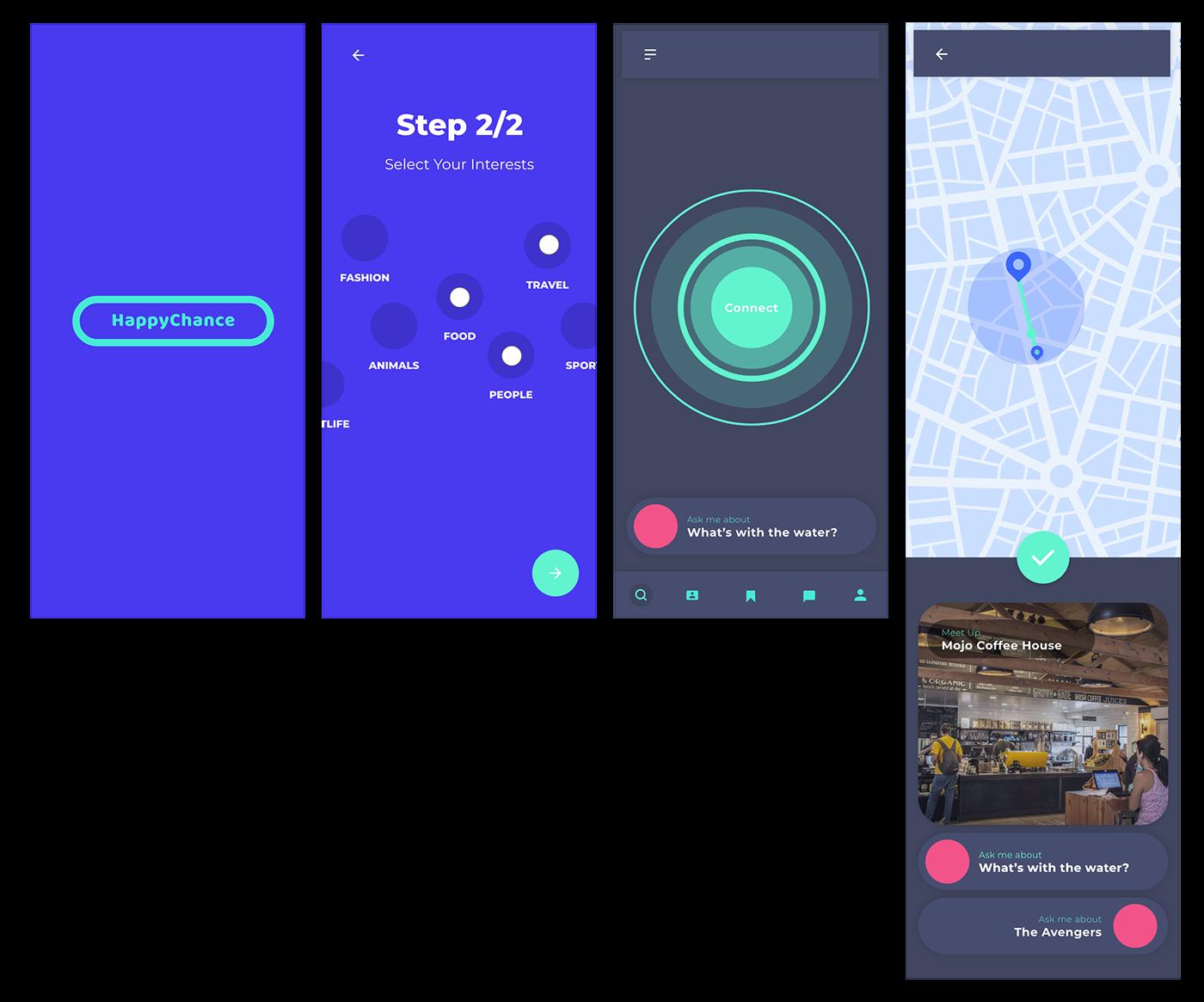 UI ux graphic design  new orleans designers creative jam