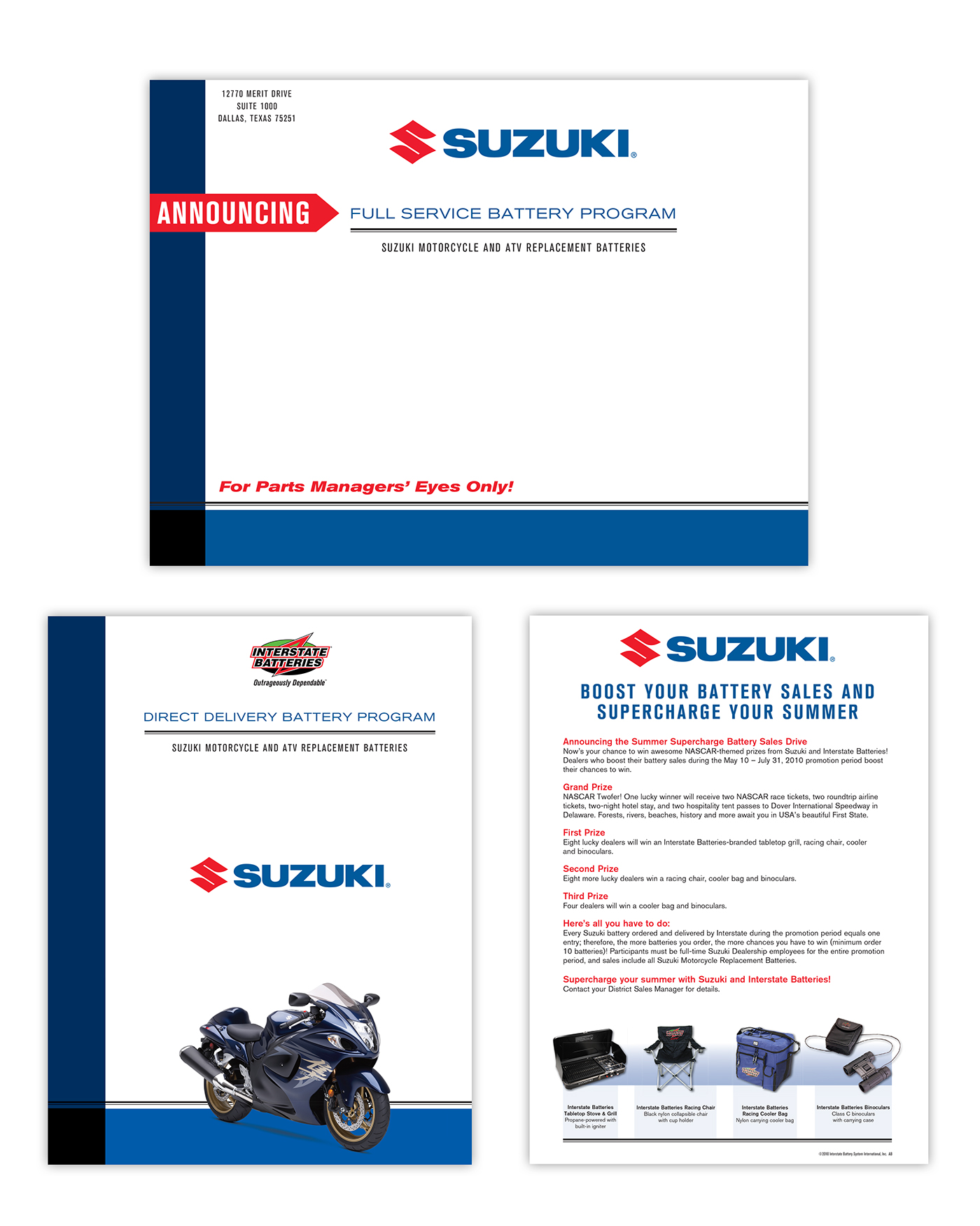 Suzuki Motorcycle Battery Application Guide