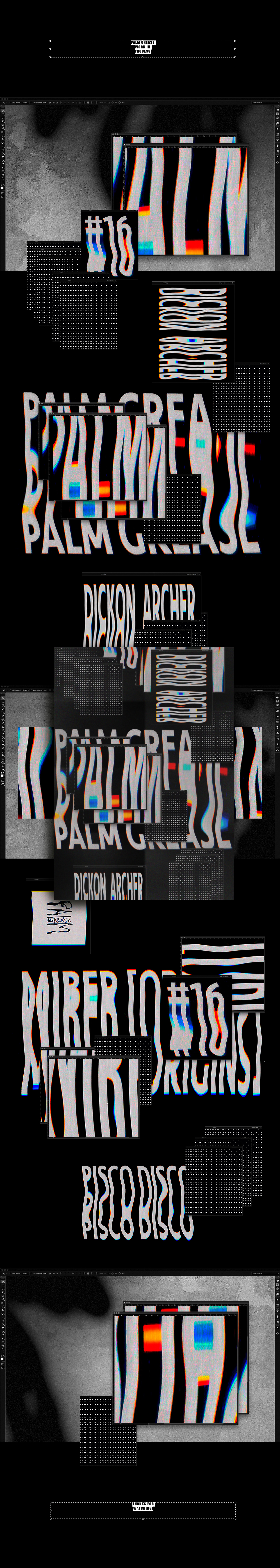 Palm Grease Event poster barcelona 𝖮𝗇𝗅𝗂𝗇𝖾
