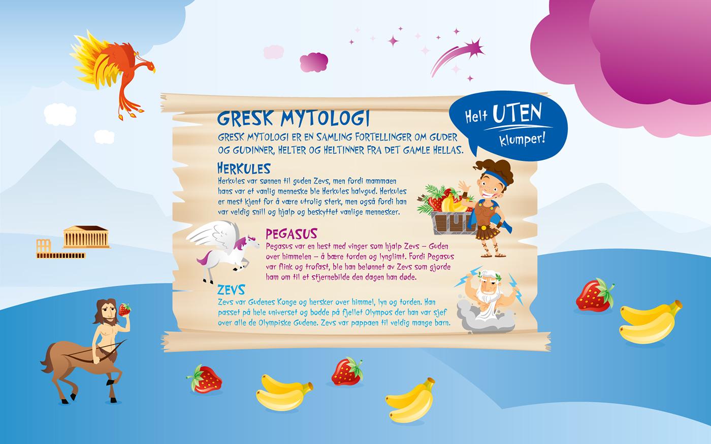 norway Synnøve Finden kids greek yoghurt yoghurt fjeldheimpartners concept logo identity