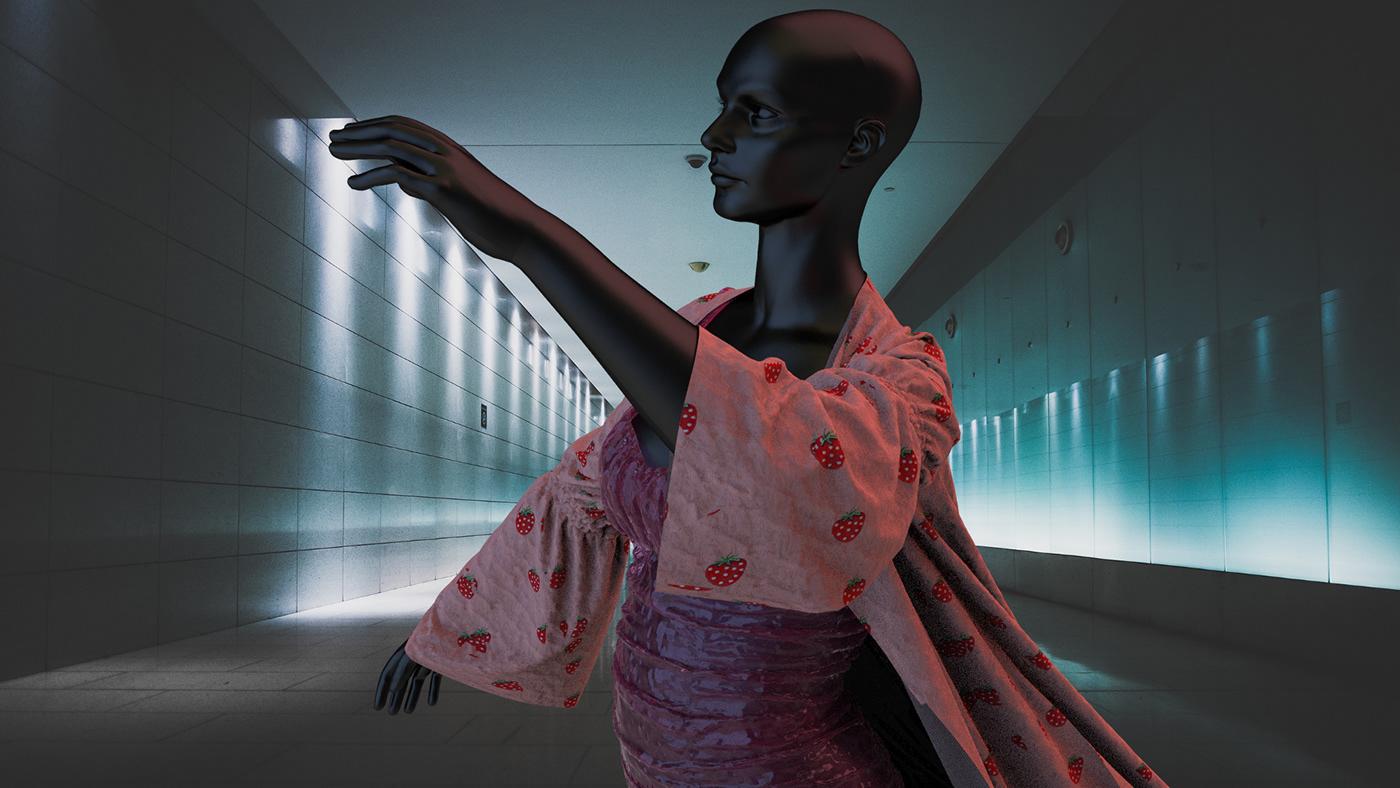 3D 3dfashion clo digital digitalfashion keyshot MarvelousDesigner virtual