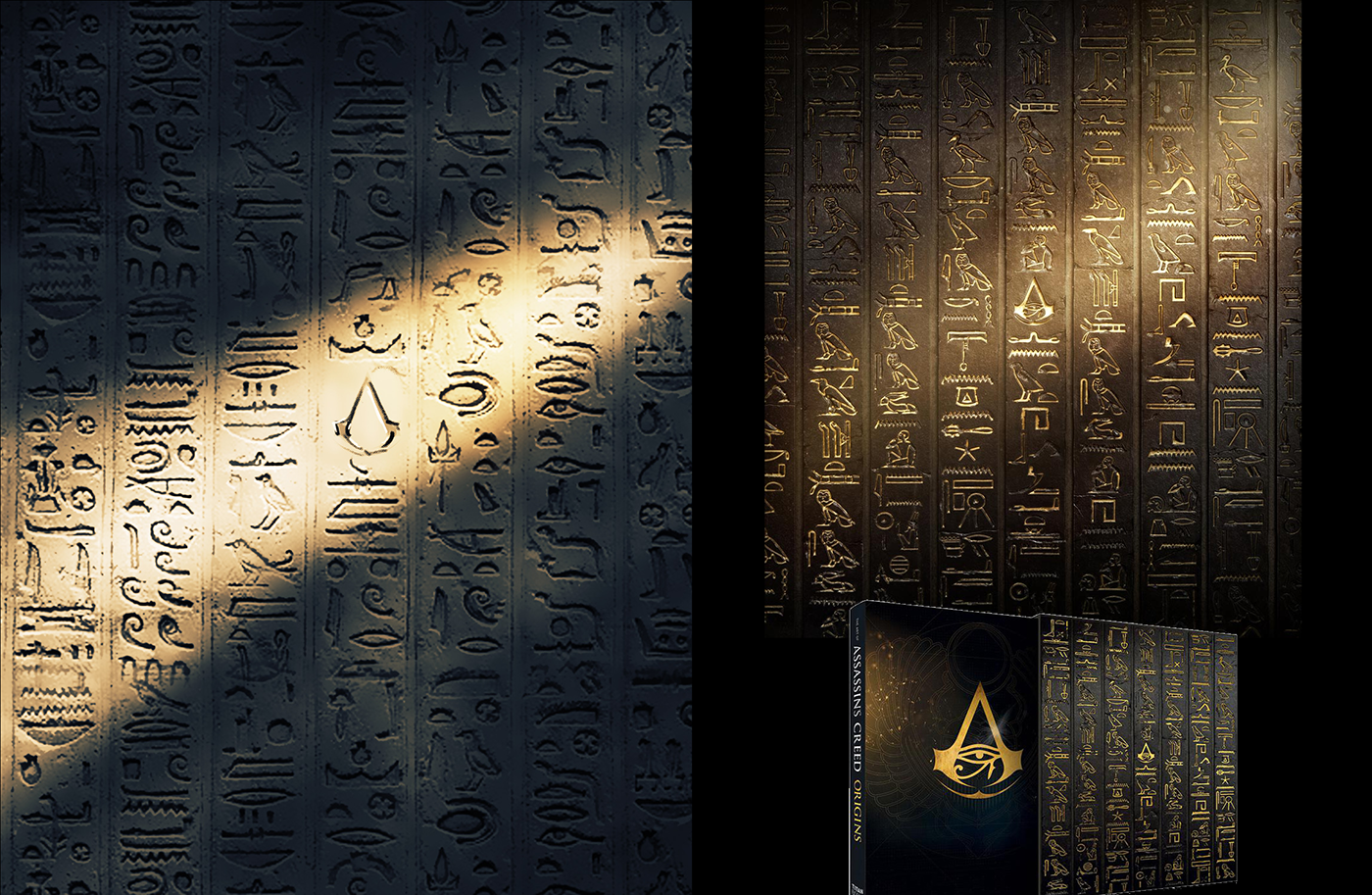 Assassin's Creed origins video game assassin egypt pyramid sphinx hieroglyph ubisoft Two Dots