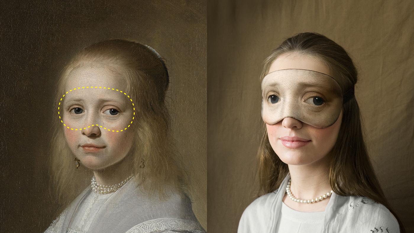 Rijksmuseum rijksstudio sleep mask Masterpieces never sleep! amsterdam
