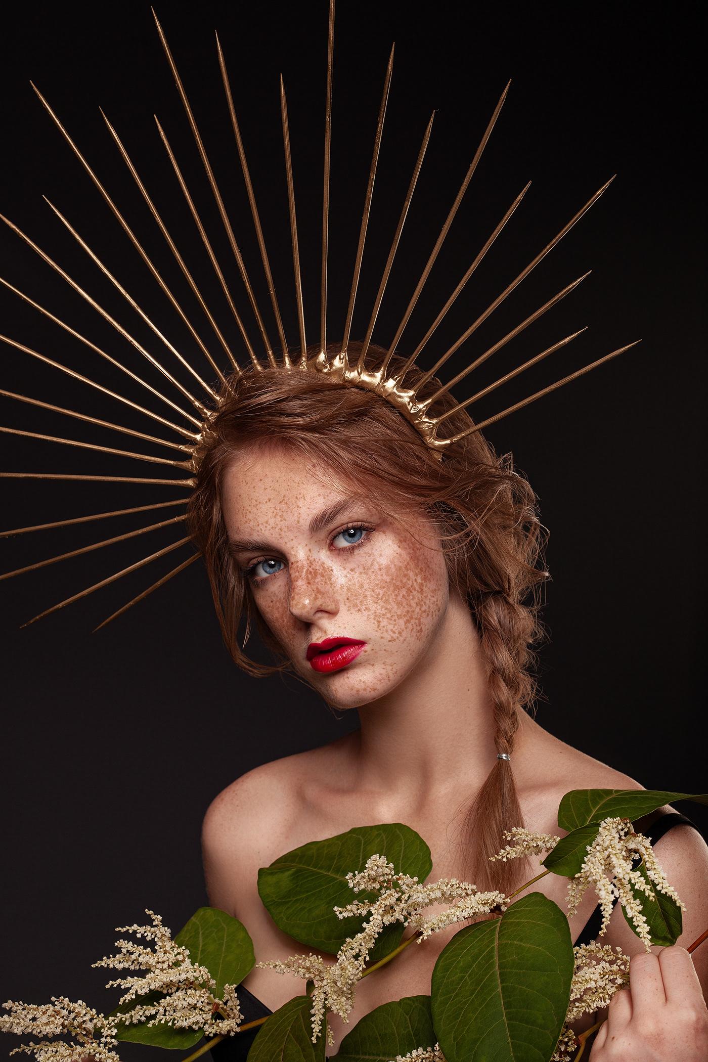beauty redlips freackless fruits closeup makeup MUA Fashion  hi end retouch
