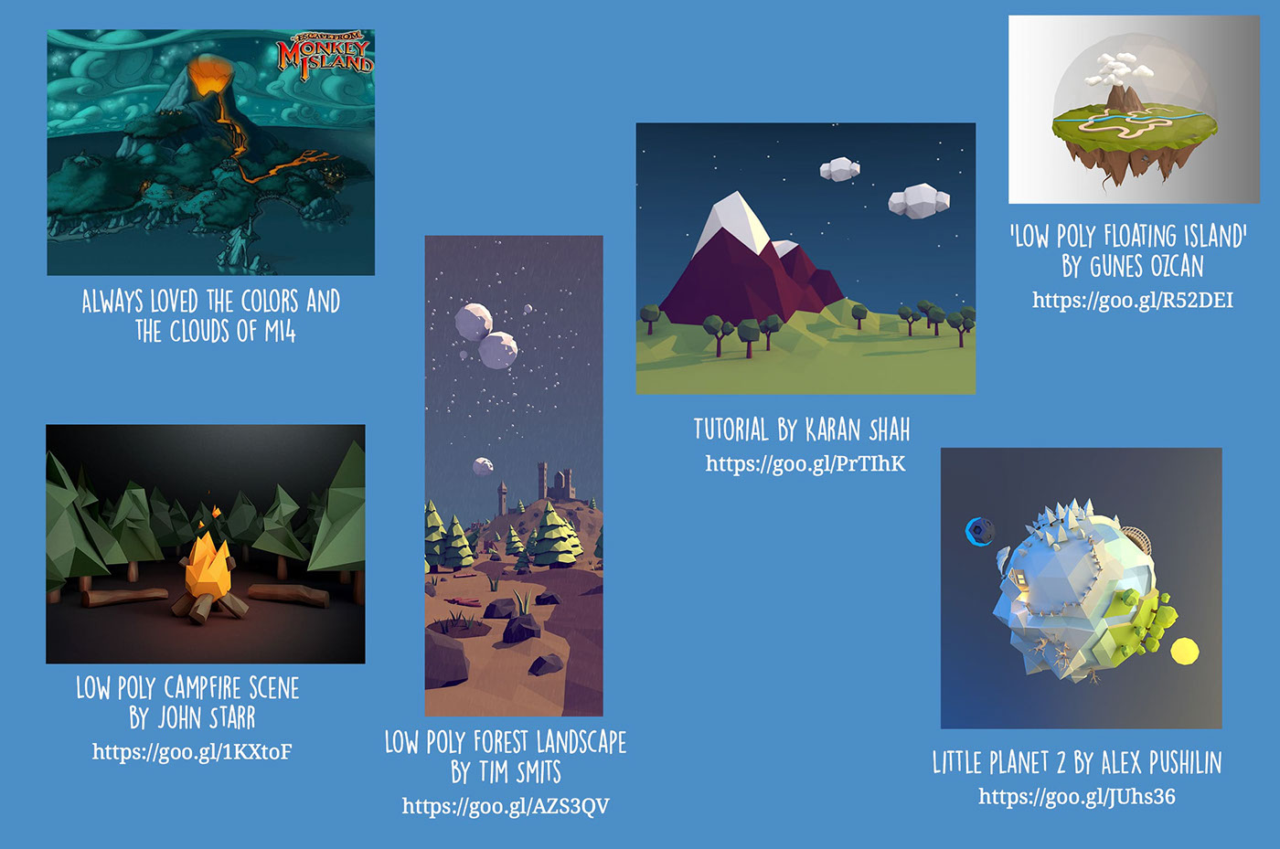 Low Poly World on Behance