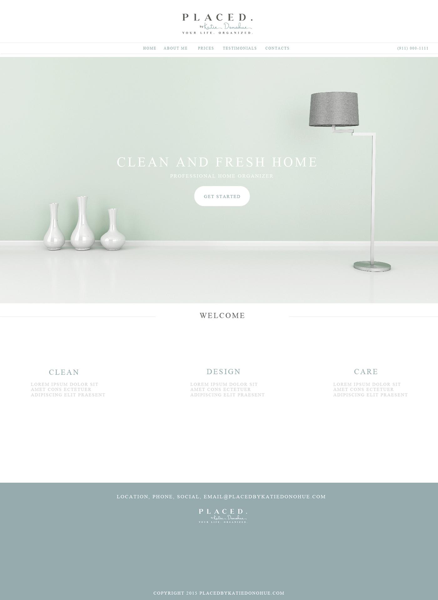 Placed. Web design