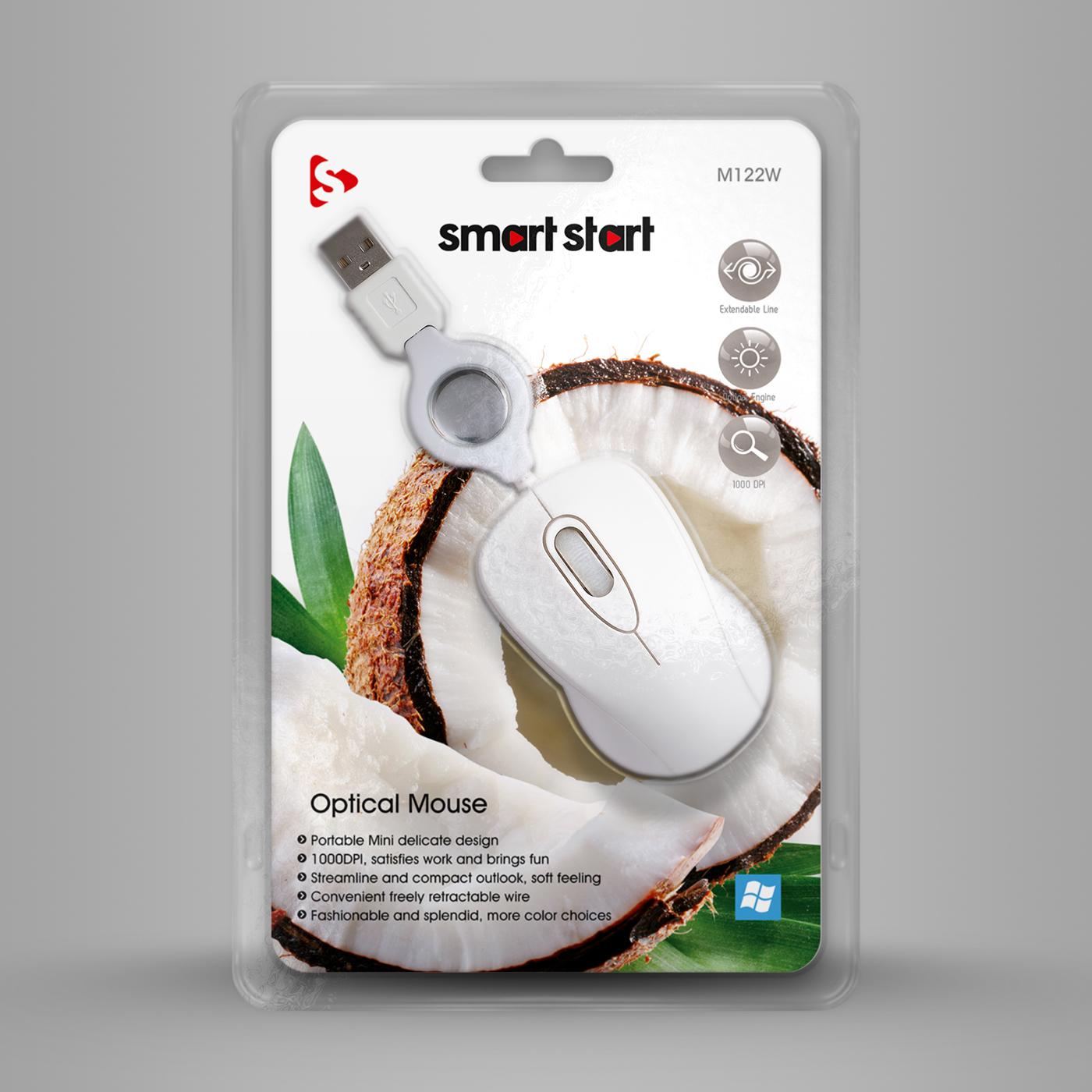 Smart Start mouse green LILA grün rosa pink Weiss Obst schwarz