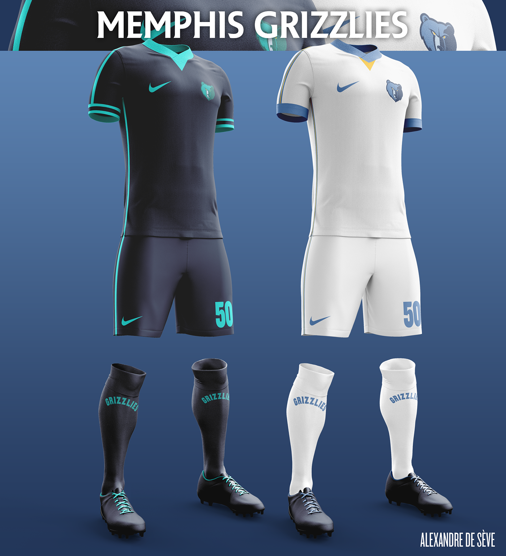 Talisman & Co. | Memphis Grizzlies Soccer Concept Kit