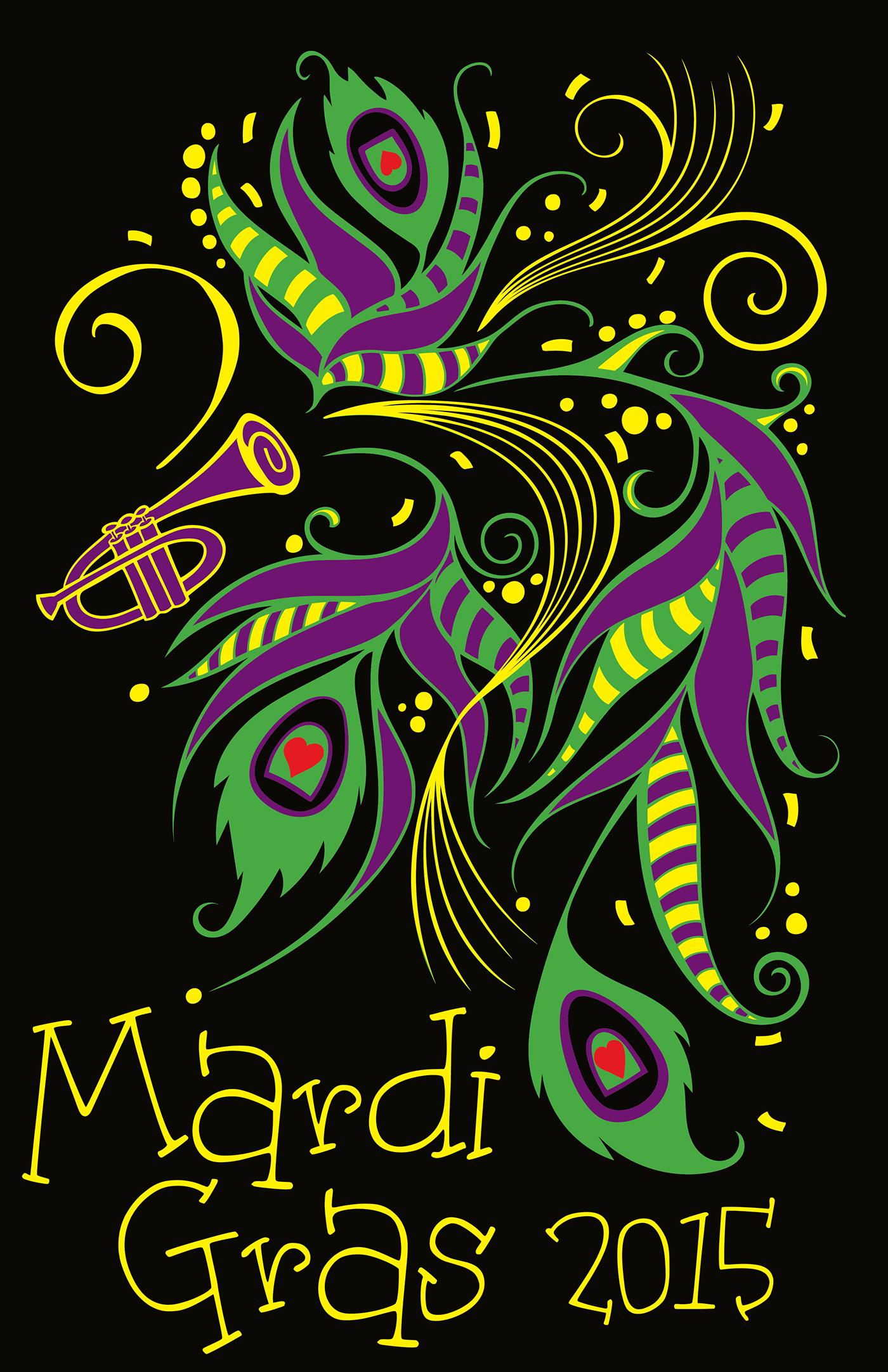 Mardi Gras T Shirt Designs On Behance
