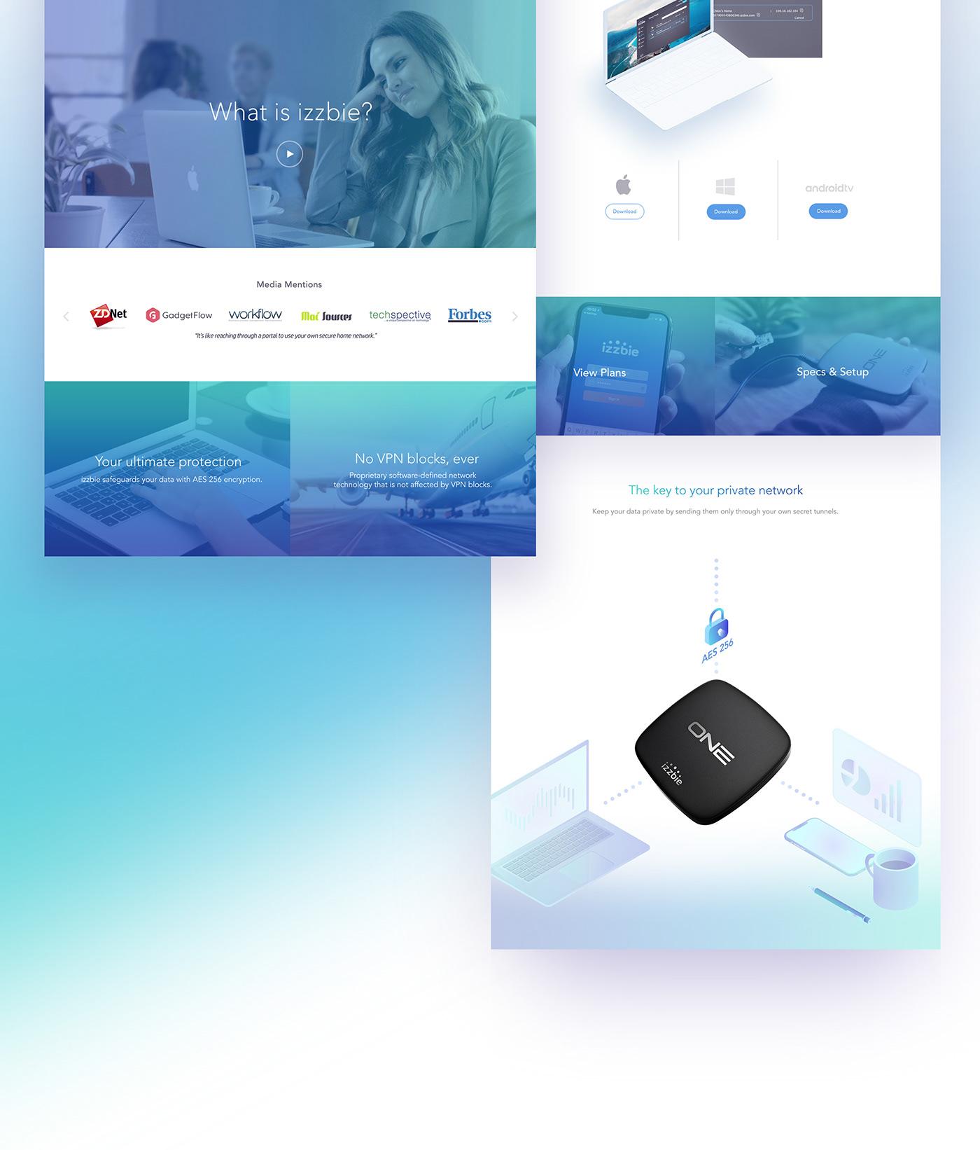 landing page Startup UI ux webpage Website